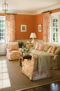 28 Best Orange Curtains Images In 2016 Bed Room Combination