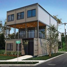 Container homes.