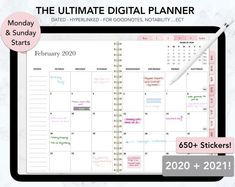 Digital Planner Goodnotes, Ipad Planner, Daily Planner, Weekly Planner, Dated Planner Pages, Monthly Planner, Life Planner, Printable Planner, Study Planner, Monthly Review, Planner Ideas, Bloom Planner, Routine Planner