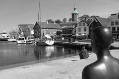 A Lovely shot of downtown #Stavanger, with #valbergtårnet as a highlight in the #regionstavanger