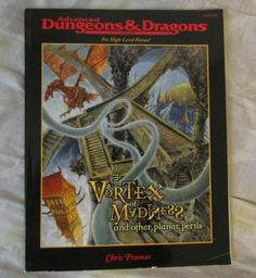 The Vortex of Madness Dungeons & Dragons 2nd TSR 11326 used #TSR
