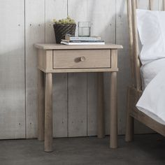 Wycombe 1 Drawer Bedside Table