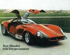 Thomassima - custom Ferrari by Tom Meade
