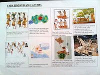 Notebooking pages for the Aztecs, Mayans, and Olmecs with free printables. Wks 16/17