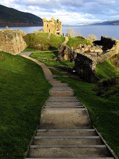 Urquhart Castle on Loch Ness, Scotland by EpawEpaw