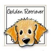 How To Potty Train A Golden Retriever Puppy - Golden Retriever Training - Golden Retriever Puppies Golden Retriever Kunst, Golden Retriever Cartoon, Dogs Golden Retriever, Golden Retrievers, Dog Rates, Retriever Puppy, Cartoon Dog, Caricatures, Dog Life