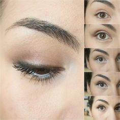 makeup. how to make small eyes appear larger.