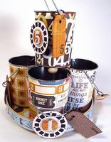 Fast and Easy Spinning Tin Can Organizer - Done! - The Gentleman Crafter