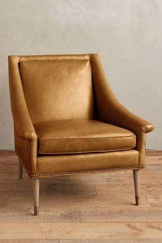 Leather Tillie Armchair - anthropologie.com