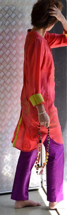 necklaces paillettesdesign+ shirt namrata joshipura www.paillettesdesign.com
