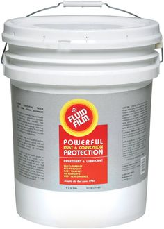 Fluid Film NAS5 Rust Corrosion Protection, 5 Gallon Pail