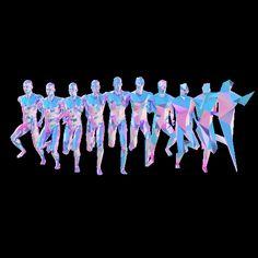 Internet Art & Wallpapers worth keeping, saving and savoring. Gifs, Gif Mania, Internet Art, How To Make Animations, Illusion Art, Glitch Art, Zoom Photo, Human Art, Running Man