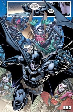 Batman & Robin - Eternal - March 2016 - Sigh! All my favorite men together (and Damian)
