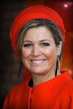 Queen Máxima, February 3, 2015 in Fabienne Delvigne | Royal Hats