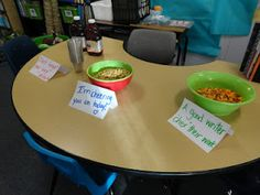 """cute snacks for test day...Add """"juicy"""" details, I'm """"Cheering"""" for you, and A good writer """"Chex"""" his work"""