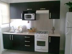Resultado de imagen para cocinas integrales casas infonavit #decoraciondecocinasintegrales