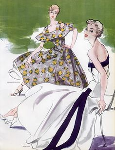 Nina Ricci & Germaine Lecomte 1953 Evening Gown, Pierre Mourgue