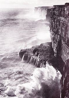 The Aran Islands. Photos by Bill Doyle.    *I definitely looked over those cliffs. Well, maybe not those EXACT cliffs, but cliffs on Dun Aengus.