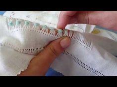 CAPRICHOS DE BOLILLOS Fraile de 4 columnas doble Hardanger Embroidery, Hand Embroidery Stitches, Lace Embroidery, Embroidery Techniques, Drawn Thread, Thread Work, Hem Stitch, Cross Stitch, Irish Lace