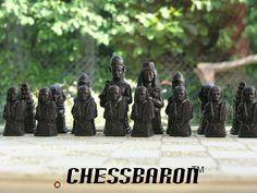 ChessBaron | Egyptian Chess Set from Mascott - ST2