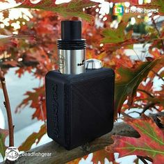 REPOST @deadfishgear  The Tree Fiddy is out. Now part of my daily carry happy she's mine. If all goes well soon she can be yours. Expect small things  #vape #vapor #vaping #vapelife #vapelyfe #vapefam #boxmod #mod #dual #rda #18350 #18350love #tinyvape #tinymod #treefiddy #3dprinted #3dprinting #3dfam #selfmade #cali #fuckbigtobacco #norcal #deadfish #deadfishgear by shapinoweno
