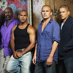 Great cast @wentworthmilleractorwriter @dominicpurcell @amaurynolasco #prisonbreak