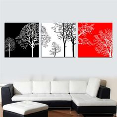 Aliexpress.com : Buy DIY Painting Tree Large Paint by Number Kit Set of Three PBN JC17002 from Reliable Paint by number suppliers on HAN ARTS $45.50