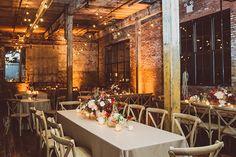 Urban New York City loft wedding | Photo by Amber Gress | Read more - http://www.100layercake.com/blog/wp-content/uploads/2015/02/Urban-New-York-Loft-wedding