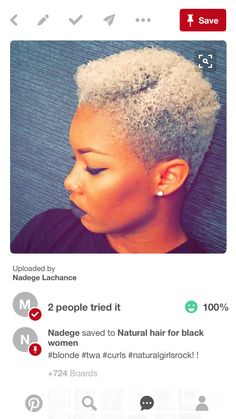 """Tease - Just to tell you"" for Base.n an agency of bbdo worldwide Short Sassy Hair, Short Grey Hair, Short Hair Cuts, Short Hair Styles, Short Afro, Black Hair, Natural Hair Cuts, Natural Afro Hairstyles, Ethnic Hairstyles"