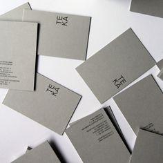 Create and simple business card for TE KA.