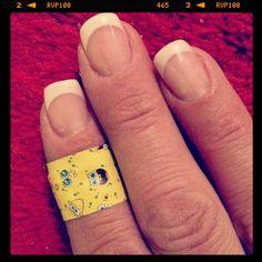 SpongeBob when you are hurt...