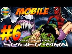 The Amazing Spider Man Mobile Parte #6 Java Game Touch