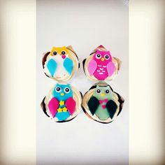 Was fun making the owl cup cakes