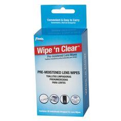 Wipe 'n Clear® Lens Wipes (20 CT)