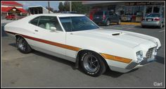 GRAN TORINO SPORT Grand Torino, Old Scool, Ford Lincoln Mercury, Ford Torino, Ford Classic Cars, Car Ford, Nice Cars, American Muscle Cars, Station Wagon