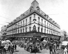 Tienda departamental,en el porfiriato, 1905