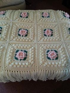 My Grandmother (she knitted a LOT) bought this same afghan from someone!! I hope to make it some day...