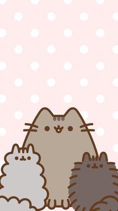 Cute Cat Wallpaper, Kawaii Wallpaper, Iphone Wallpaper, Pusheen Love, Pusheen Cat, Kawaii Drawings, Cute Drawings, Penguin Drawing, Kawaii Doodles