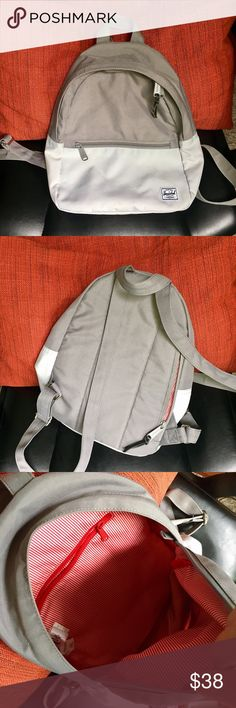 Herschel Supply Co. 'Town' Backpack Herschel Town Backpack in Lunar Rock/Grey. In great condition. Only used couple times. A simple, elegant and classical style that can go with any clothes! Herschel Supply Company Bags Backpacks