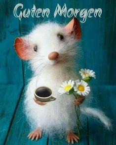 Que tengas un buen día - refranes - # hermosa # DISCURSO - Liebe Grüße - Good Morning Picture, Good Morning Greetings, Good Morning Good Night, Morning Pictures, Good Morning Wishes, Good Day, Needle Felted Animals, Felt Animals, Animals And Pets