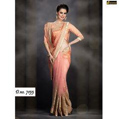 Latest designer bollywood indian wedding georgette fabric free ship BRIDAL SARI #DESIGNER #Saree