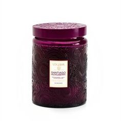 Volupsa Santiago Huckleberry Candle  These are amazing candles and the best part is the jars you can use for decorative purposes after - win win!
