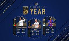 FIFA 18 TOTY attackers