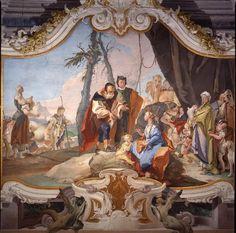 Giambattista Tiepolo - Rachele nasconde gli idoli