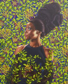 Kehinde Wiley's work reimagines Western conventions in art history and gives a voice to black men and women who have otherwise appeared underrepresented in museums and on gallery walls.  By replacing the wealthy European aristocrats with contemporary black subjects, Kehinde Wiley asks viewers to question how images affect our ideas of identity and culture. http://www.buzzfeed.com/gabrielsanchez/gorgeous-paintings-reimagine-art-history-and-race#.rrvoPvzoM