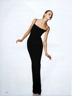 Kirsty Hume by Marc Hispard for Vogue Paris, September 1994