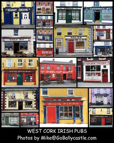 West Cork Collage Poster - Click image above to purchase. $20