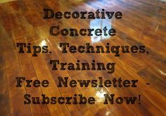 Subscribe to our free newsletter.  Free tips, techniques & training.