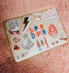 See more of content on VSCO. Mac Stickers, Cute Laptop Stickers, Macbook Stickers, Preppy Stickers, Coque Macbook, Macbook Case, Macbook Pro, Macbook Decal, Floral Iphone Case