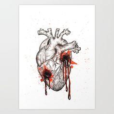 Bullet Shots Art Print by Endi | Society6  #heart #myheart #brokenheart  #art  #artistic #artists #instaartoftheday #myart #society6 #illustration #humanheart #eyes  #painting #eye  #paintings #tattoo #watercolor #liner #heartmagazine  #pencil #artistsofinstagram #artistsoninstagram #beautiful #endiart